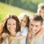 Photo d'une famille qui s'est aggrandie